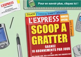 Site de jeu en ligne pour un groupe de médias l'Express et l'Expansion