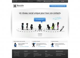 Création du Réseau social professionnel et personnel Buzzle