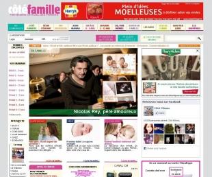 Création d'un site communautaire dédié aux parents Côté Mômes