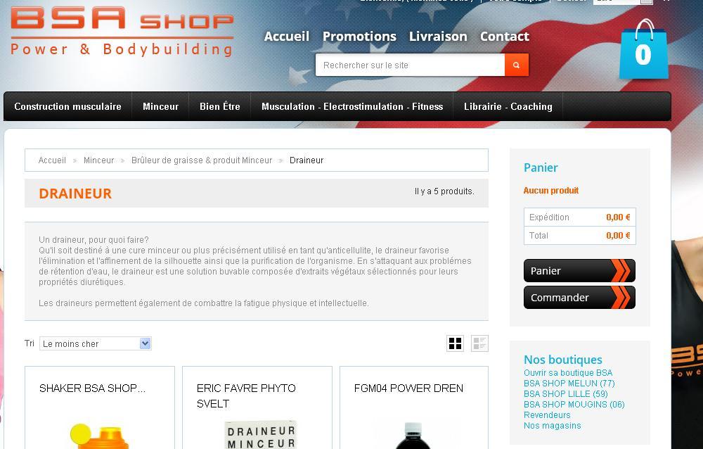BSA Shop - 1