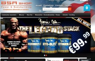 Créer un site e-commerce Prestashop BSA Shop