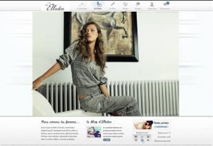 Création d'un site de vente de vêtements bohèmes Elleden