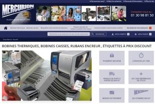Développement du site web Mercurion