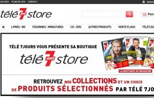 Création de la boutique en ligne du magazine Télé7jours