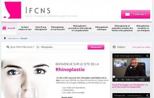 Créer un site professionnel médical IFCNS