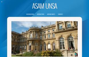 Création du site ASAM UNSA