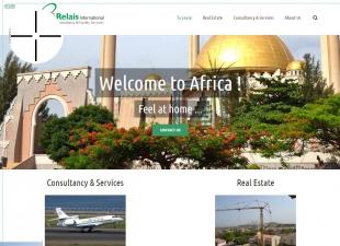 Refonte du site vitrine de l'agence immobilière Relais Ltd