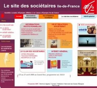 Créer un site de communication Caisse d'Epargne