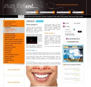 Création d'un comparateur de prix sur mesure pour dentistes CQFDents