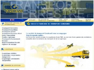 Conception d'un site pour le transport international