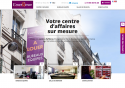 Site vitrine pour la prospection en Centre d'Affaires