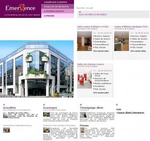 Cr ation site vitrine ou institutionnel for Catalogue buro reunion