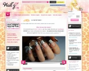 Site e-commerce Prestashop Nailz