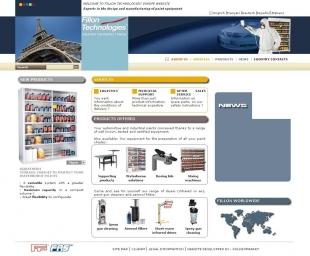 Créer le site corporate industriel Fillon Technologie