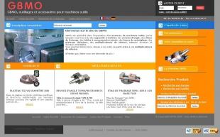 Créer le site catalogue industriel de GBMO