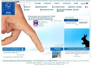 Création du site professionnel de chirurgie IFCM