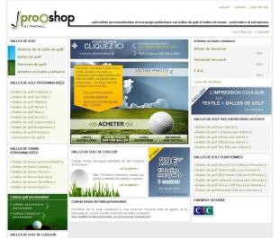 Créer un module de balles de golf personnalisables Prooshop