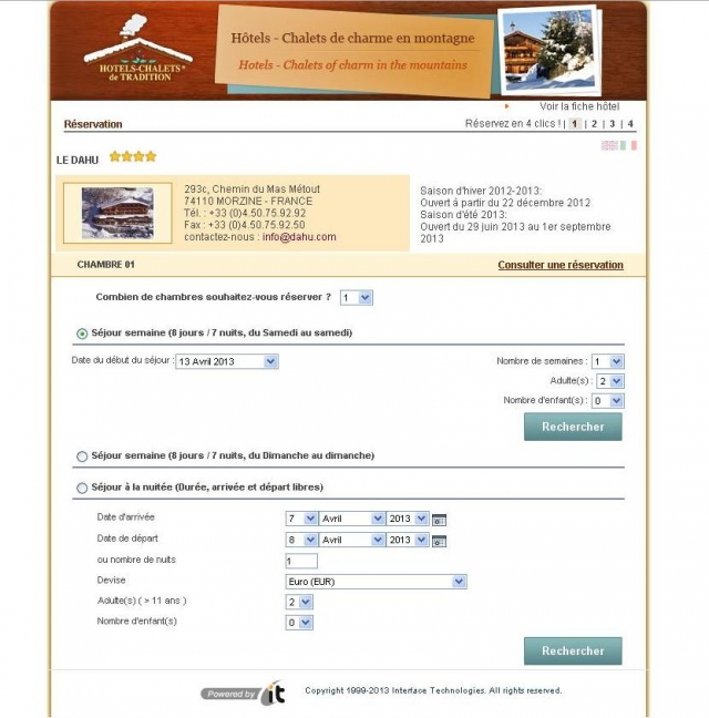 Cr er un site de r servation en ligne for Site de reservation