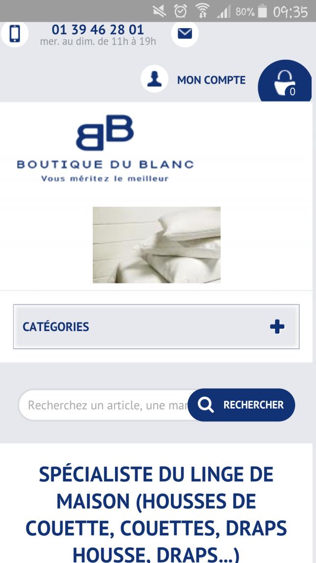 Boutique en ligne de linge de maison - Linge de maison en ligne ...